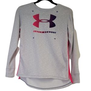 NWT Under Armour Finale Terry Crew Top